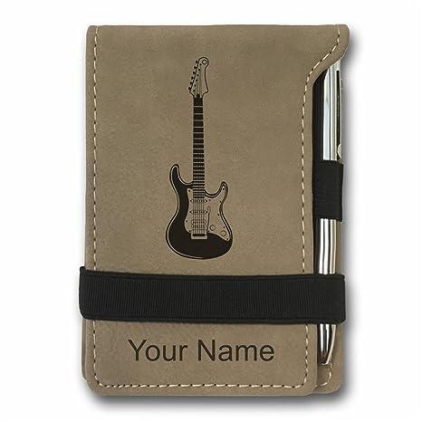 Amazon.com: Mini bloc de notas de bolsillo – Guitarra ...