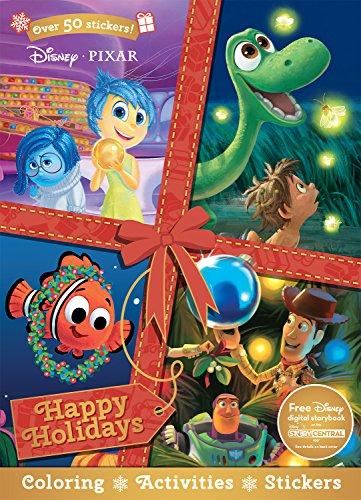 Disney Pixar Christmas Happy Holidays (Sticker Sce…