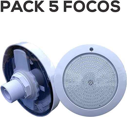 Swimhome Pack Focos LED Completamente Relleno de Resina Blanco ...