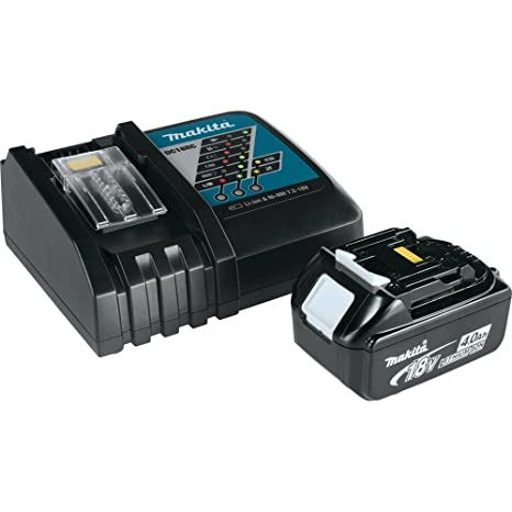 Amazon.com: Makita bl1840dc1 18 V Lxt – Cargador de batería ...