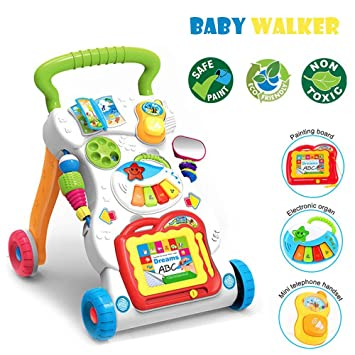 Amazon.com: Xiangtat 4 en 1 paseo de bebé, paseador de ...
