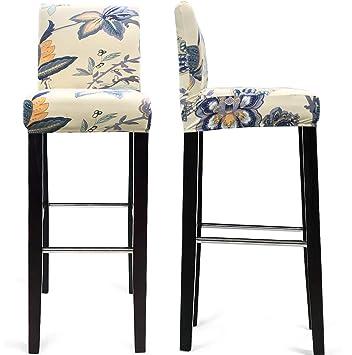 Amazon.com: MOCAA Fundas para silla de comedor, fundas para ...