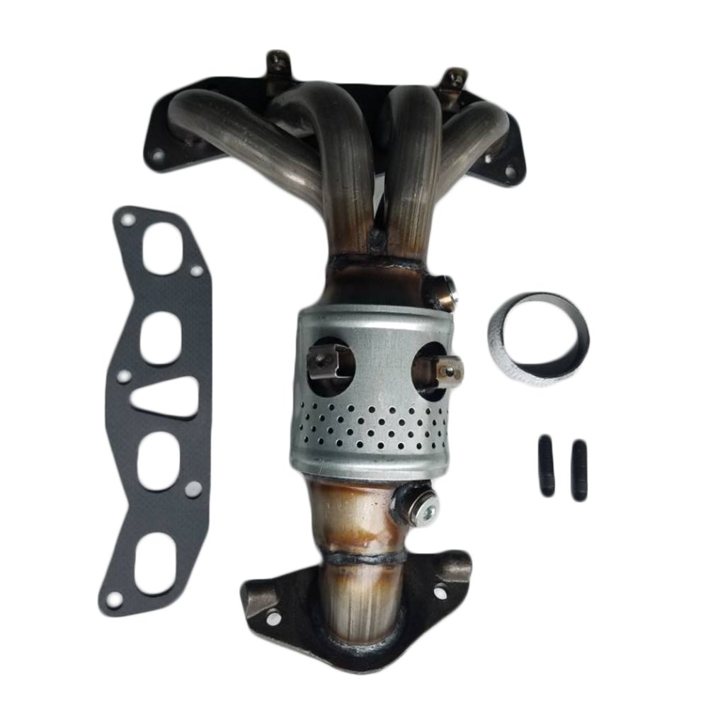 Front Catalytic Converter Exhaust Manifold for 02-06 Nissan Sentra Altima 2.5L