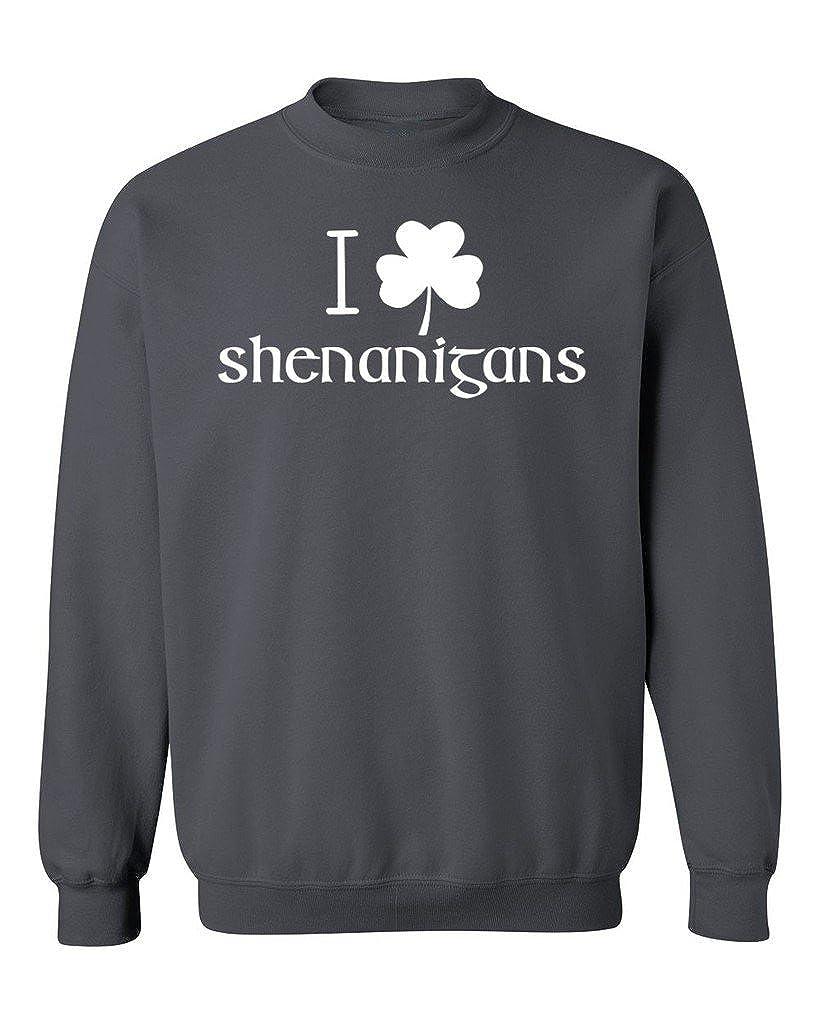 ST Patricks Day Crewneck Sweatshirt Promotion /& Beyond I Shamrock Shenanigans