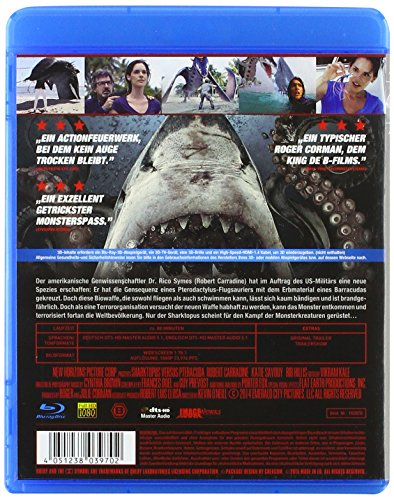 Sharktopus vs. Pteracuda (2014) (3D & 2D) [ NON-USA FORMAT, Blu-Ray, Reg.B Import - Germany ]