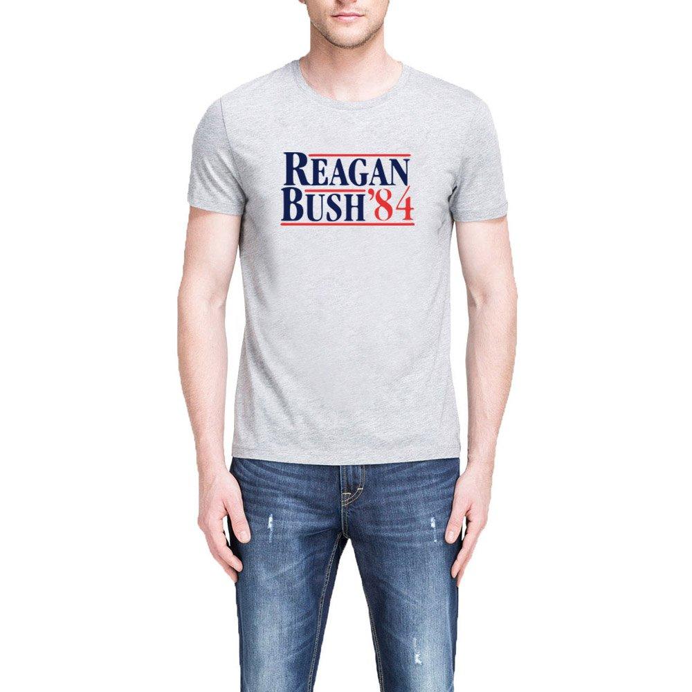 Loo Show S Reagan Bush 84 Republican Presidential Campaign T Shirts Tee