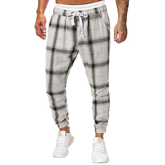 Pantalones De Hombre Blancos Pantalones Americanos Hombre ...