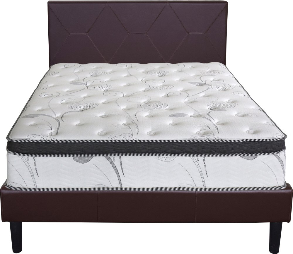 Olee Sleep 13 Inch Box Top Hybrid Gel Infused Memory Foam Innerspring Mattress