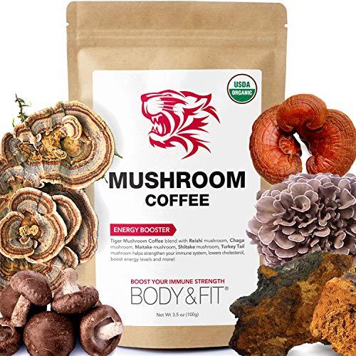 Tiger Mushroom Coffee Ingredients Antioxidants