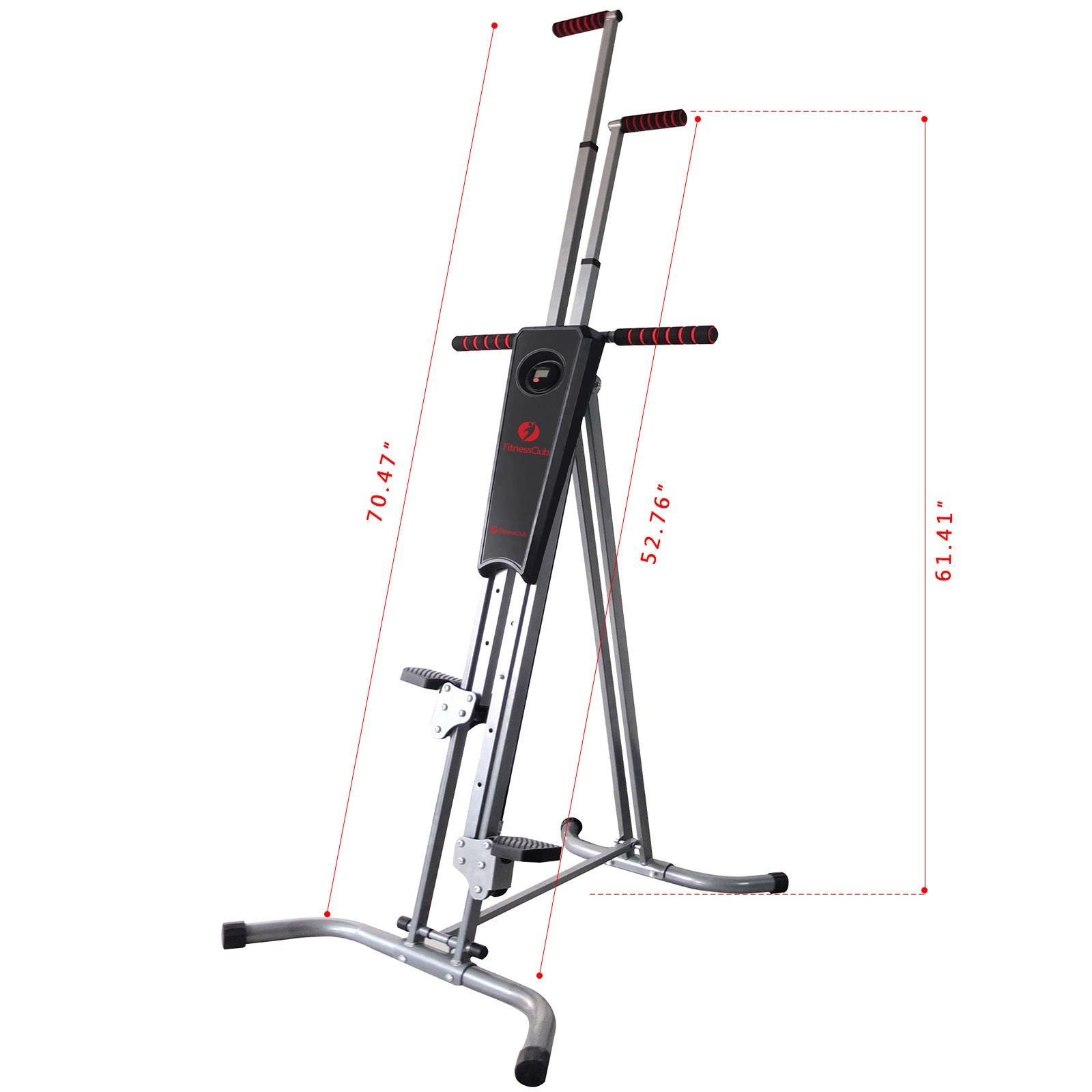 Home Exercise Equipment Stepper: Fitnessclub Vertical Climber Exercise Climbing Machine