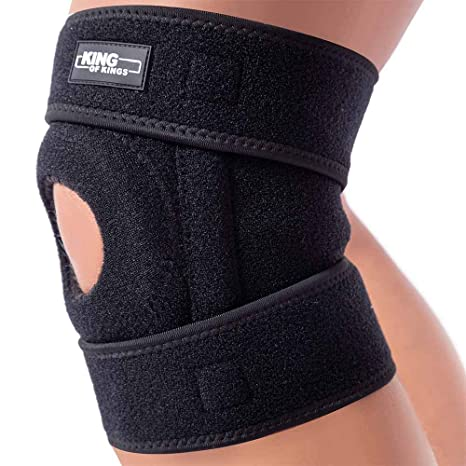 3e9ef45a Patella Stabilizing Knee Brace for Women, Men, Meniscus Tear, Arthritis  Pain and Support