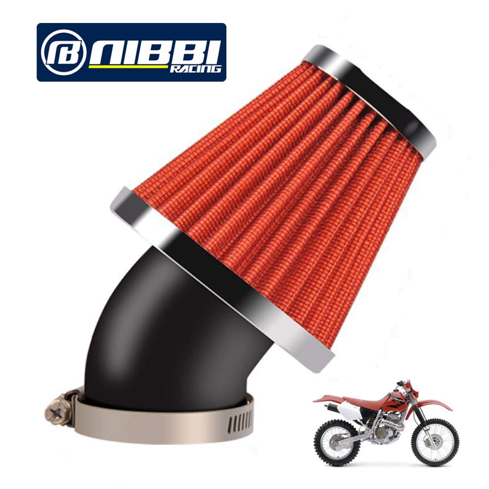 NIBBI RACING PARTS Filtre /à air haute performance 48 mm Filtre /à air Dirt Bike Filtre /à air Compatible avec ATV SSR TTR Dirt Bike Pit Bike Mini Bike GY6 AJS