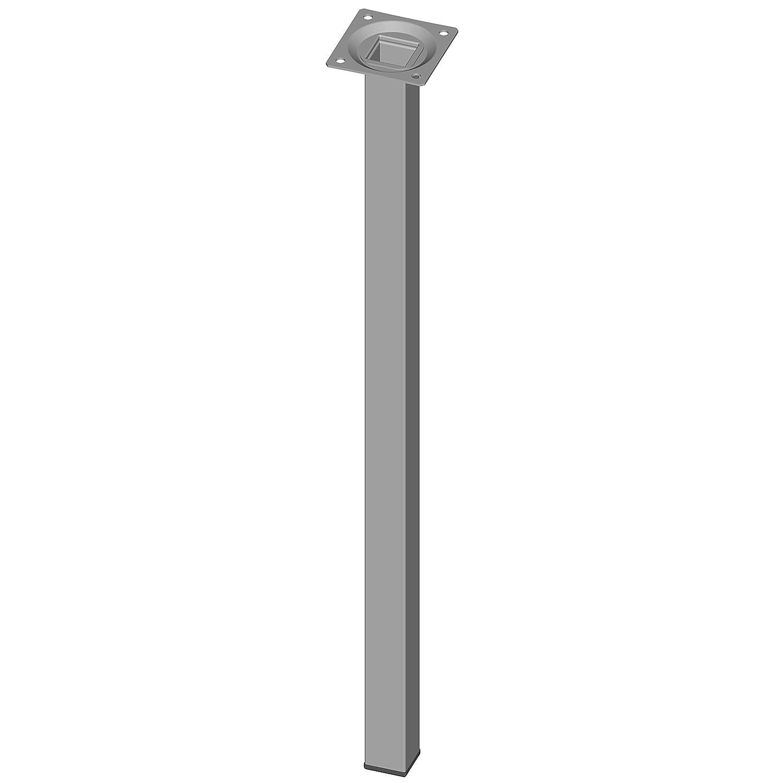 Element System 11101-00060 Pie para muebles cromo 70 cm