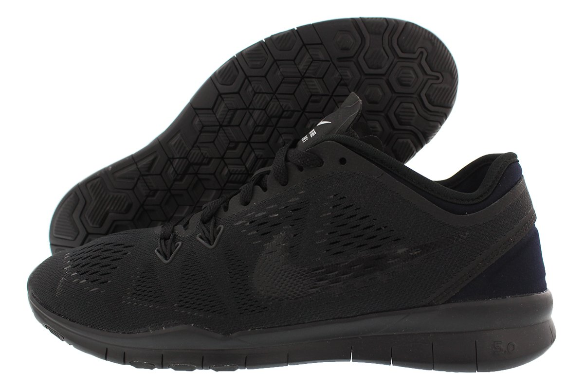 timeless design fad2b a3ccf Nike Womens Free 5.0 Fit 5 Trainer, 6, Black