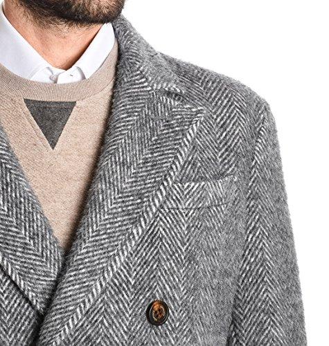 Eleventy Herren 979CS0050CAS200096 Grau Wolle Mantel