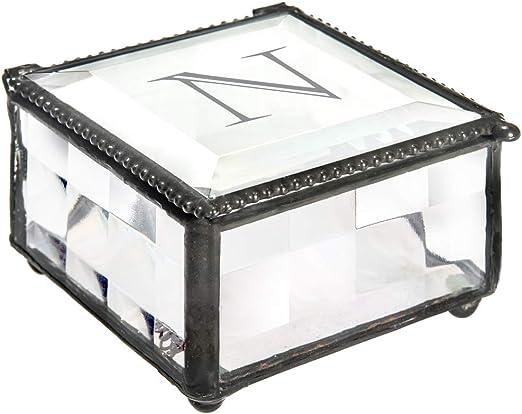 6 Glass Mirror Square with Beveled Edge 3 inch Fairy Garden Wedding glass box