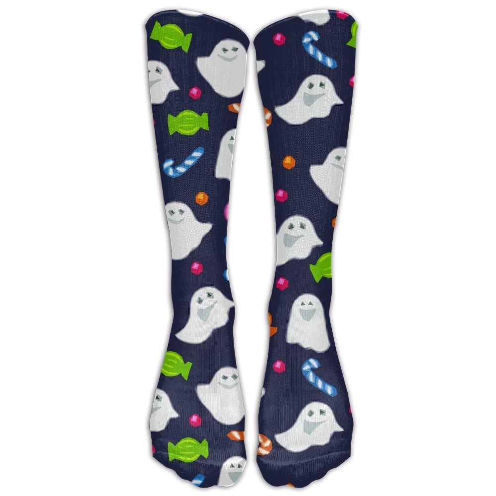 Xngtax Thigh High Socks Pumpkin Halloween Womans Mens Funny Champion Athletic Leggings Knee High Stockings For Dress Sport