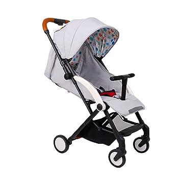 Amazon.com: Baby Stroller Peso ligero carriola cochecito ...