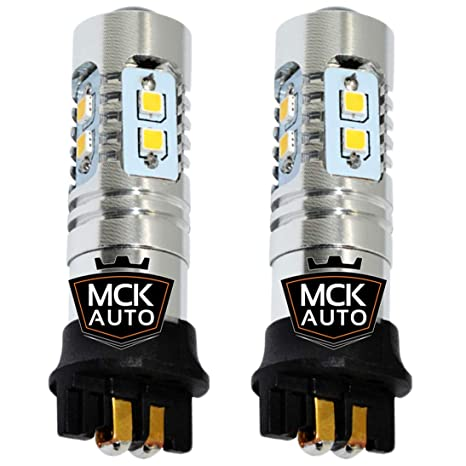 Bombillas de circulación diurna PW24W 10SMD, bombillas LED ...