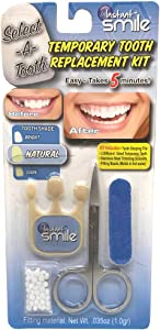 NATURAL WHITE SELECT A TOOTH INSTANT FAST & EASY TEETH REPAIR KIT