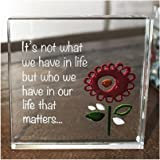"""Exclusive Spaceform Miniature Token """"its not what we have in our life but who we have that matters"""""""