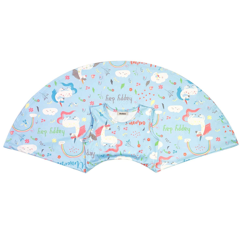 ModaIOO Gilrs Unicorn Dinosaur Mermaid Butterfly Flamingo Sleeveless Dress