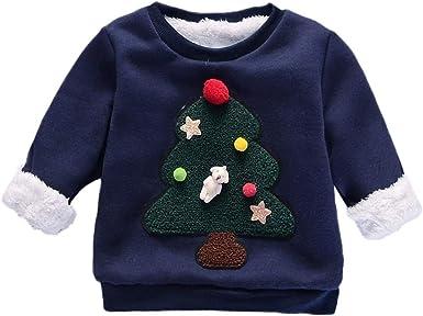 POLP Niño Navidad Bebe Ropa Disfraz Navidad Bebe Bebe Navidad ...