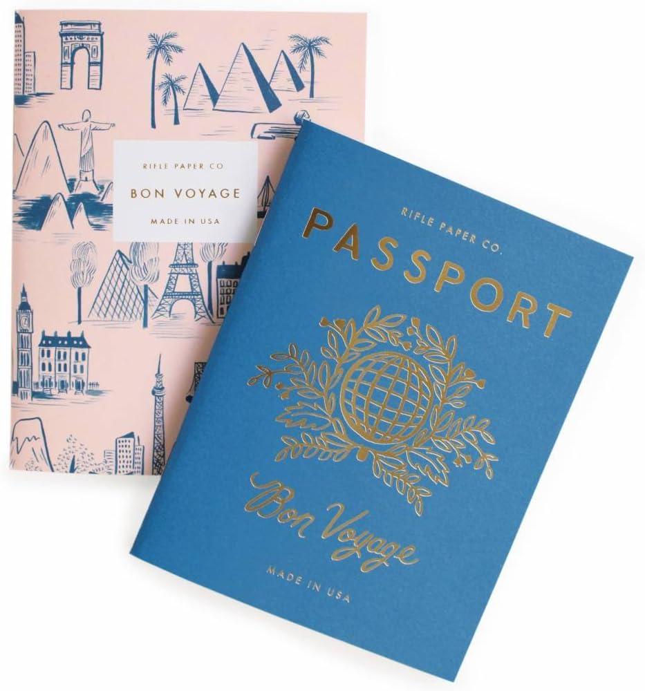 Rifle Paper Co. Passport Pocket Notebooks