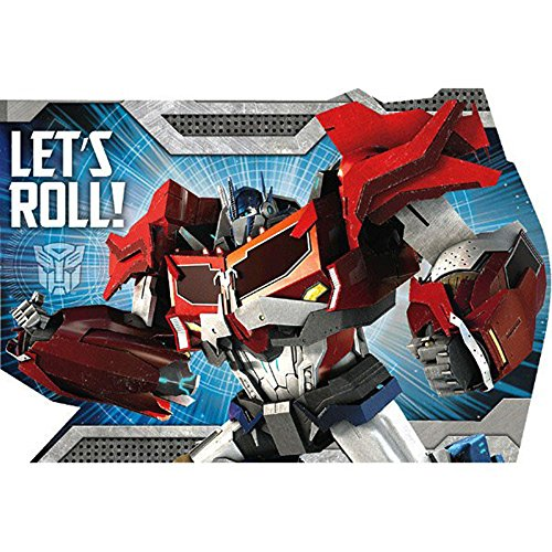 amscan Transformers Invitations w/ Envelopes (8ct)]()