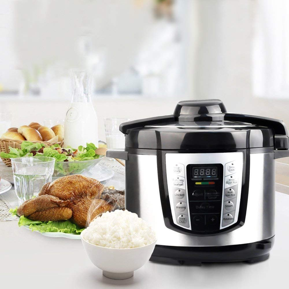 Greatic YA500 10-in-1 Multi-Use Programmable Electric Pressure Cooker by Greatic (Image #7)