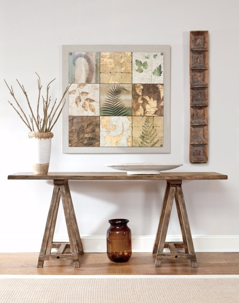 Ashley Furniture Signature Design - Vennilux Console Table - Vintage Casual - Light Brown by Signature Design by Ashley (Image #2)