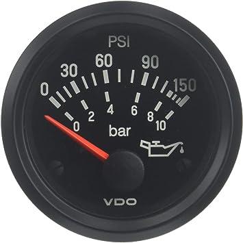 VDO 350 108 Oil Pressure Gauge