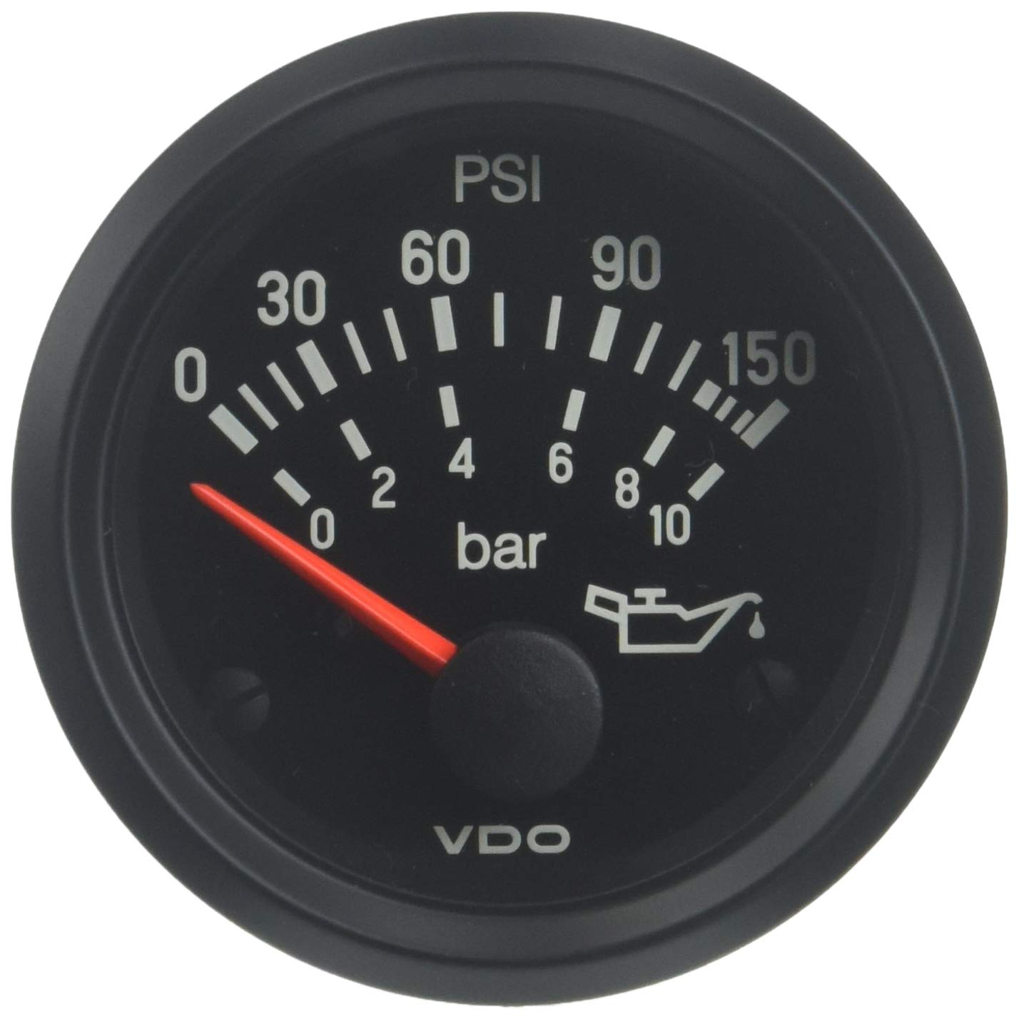 VDO 350 910 Oil Pressure Gauge