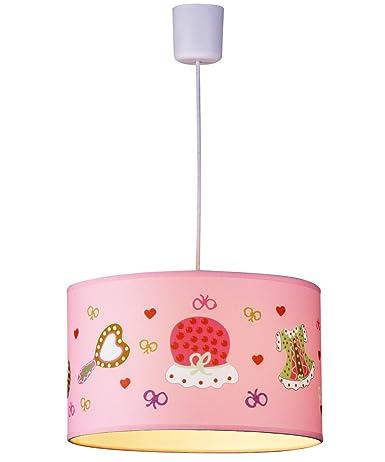 PureLumeTM - Lámpara infantil rosa Fashion habitación de los ...
