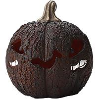 Cimaybeauty Strange Pumpkin Night Lamp Resin Crack Small Atmosphere Decorative Lamp Portable