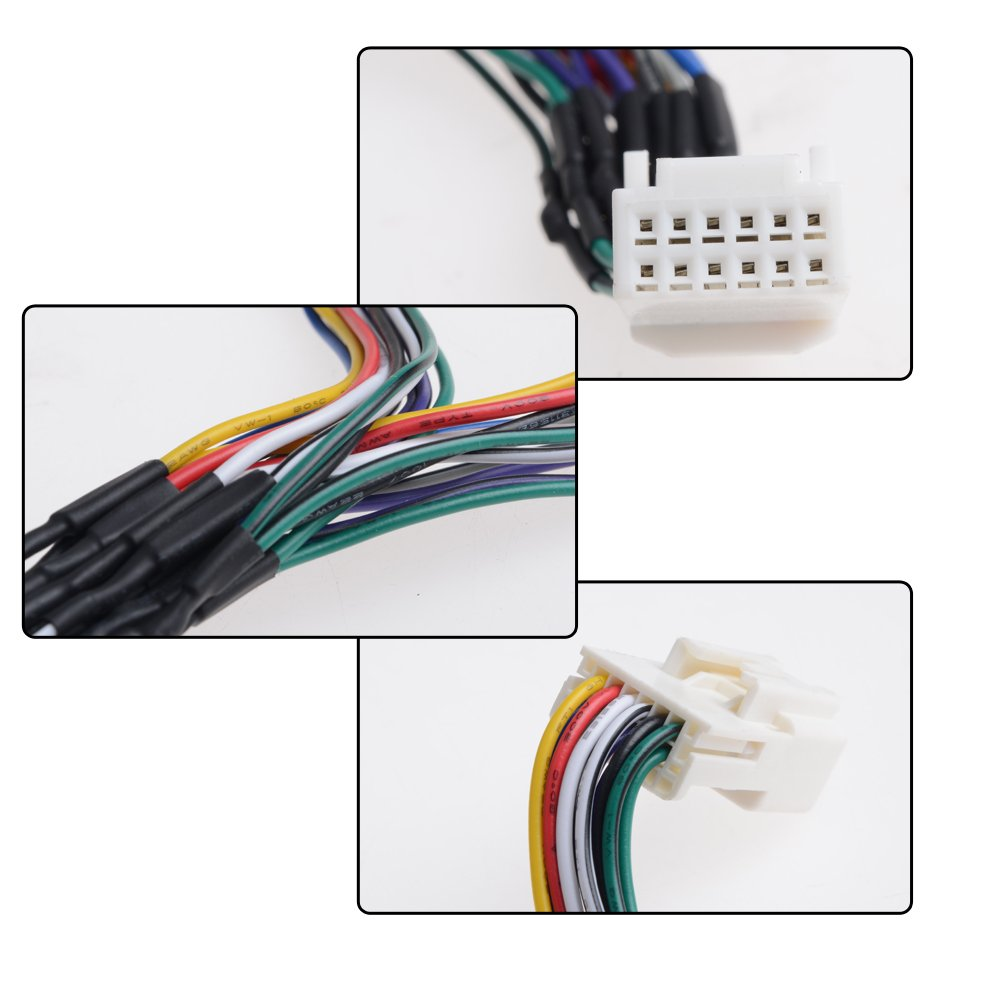 12v 6 Y Harness Car Cd Changer Aux Interface Input Wiring Stereo To Leisure Battery Adapter For 03 04 05 06 07 08 09 10 11 12 13 14 Toyota Lexus Electronics