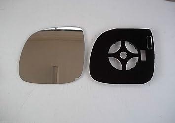 Amarok + Transporter T5 GP 2010 - Espejo retrovisor de cristal calefactado + moldeado - lado del pasajero: Amazon.es: Coche y moto