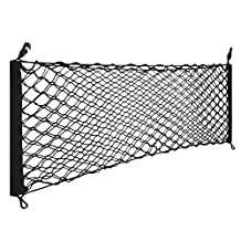 Car Rear Cargo Elastic String Net Storage Bag Organizer Flexible Cargo Net Mesh for SUBARU IMPREZA SPORT HATCHBACK