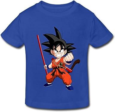Infantil Little Boys Girls Dragon Ball Goku de Kid T Camisa ...