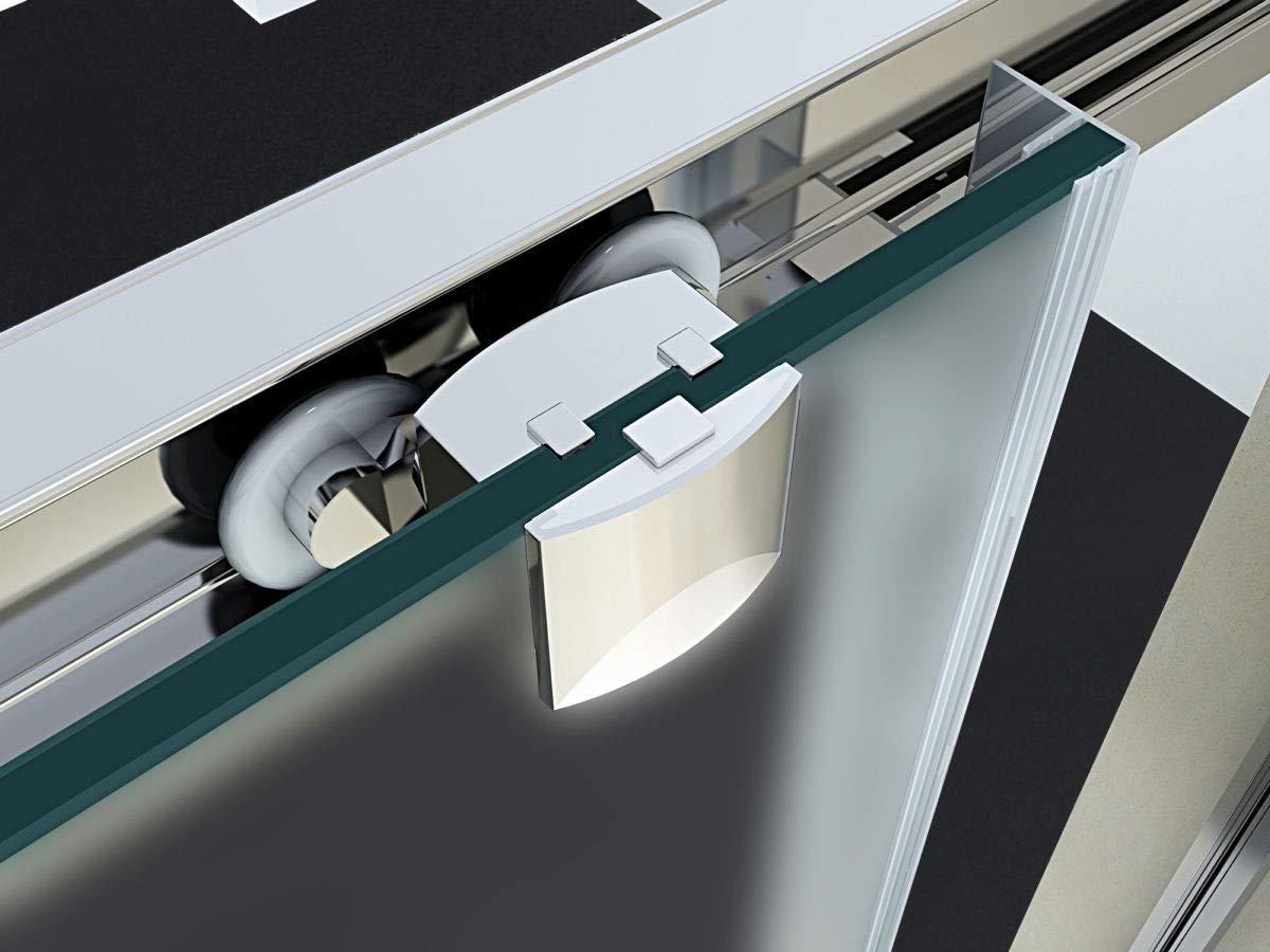 Cm 140, Cristallo 6mm Trasparente 160 Anta Scorrevole Struttura Alluminio Anodizzato Yellowshop 140 120 Altezza Cm 190 Serie Smart Box Doccia Porta Nicchia Bagno Cm 100