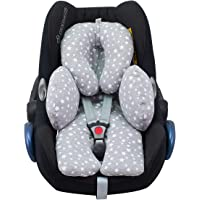 JANABEBE Reducer Cushion Baby Head and Body Support (Black Star)