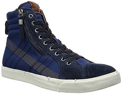 info for a7d4a 058e1 DIESEL Herren D-Velows D-String Hohe Sneaker, rot, 40 EU ...
