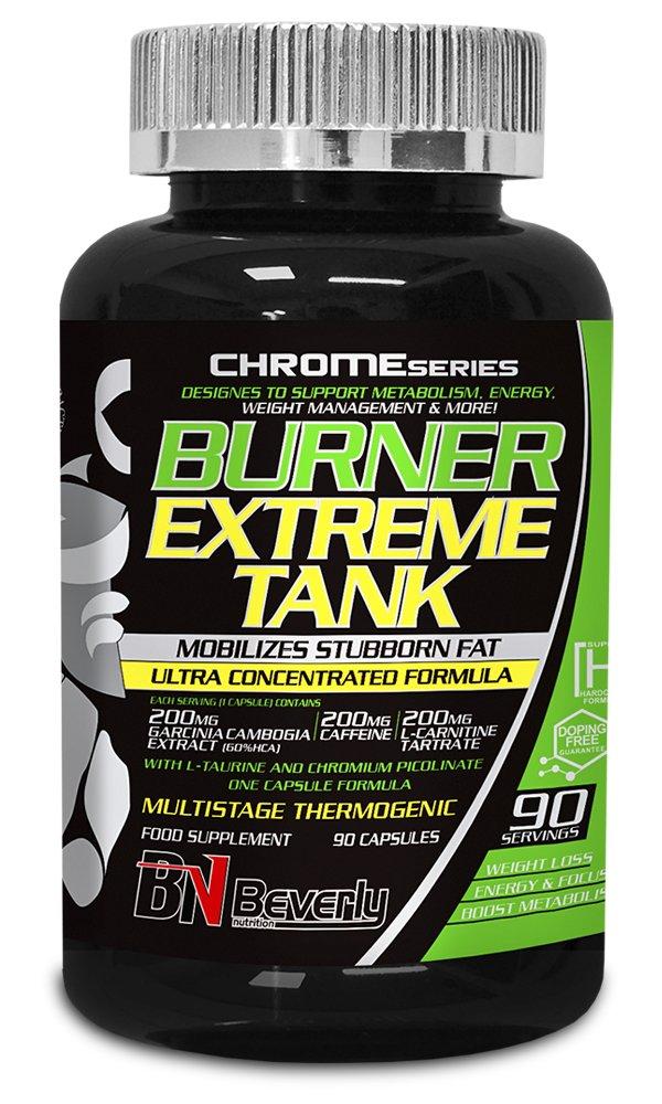 Beverly Nutrition Burner Extreme Tank Quemador de Grasas - 90 Cápsulas: Amazon.es: Salud y cuidado personal