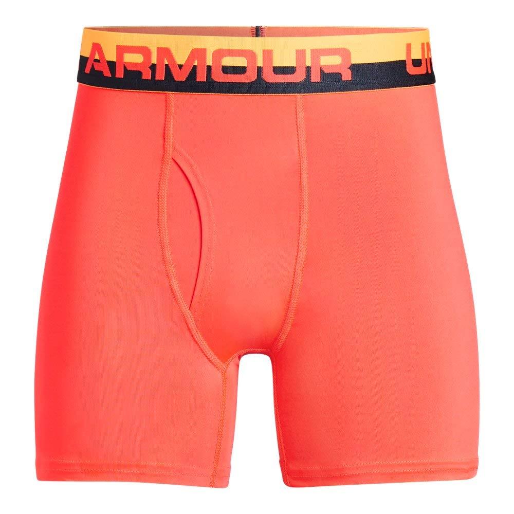 Under Armour UA Original Series Boxerjock 2-Pack YMD NEON Coral