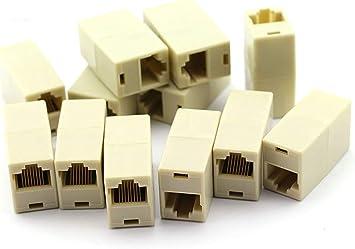 25Pcs RJ45 Plug 8P8C RJ45 UTP CAT6 CAT5 PLUG LAN Ethernet Gold Plated Connectors