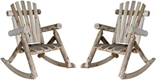 product image for Lakeland Mills Patio Rocking Chair (Set of 2)