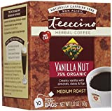 Teeccino Caffeine Free Herbal Coffee - Vanilla Nut - 10 ct