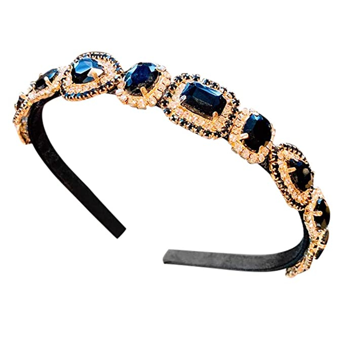 Chrystyna - Hot Sale - Diadema para mujer, mini accesorios negro ...