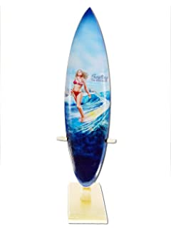 Deko Holz Surfboard 30 Cm Lang Airbrush Design Surfing Surfen