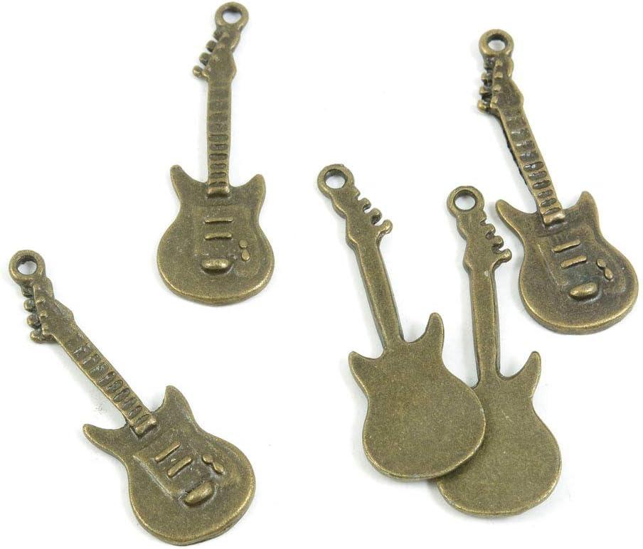 Abalorio de tono de bronce antiguo 909516 para guitarra eléctrica ...